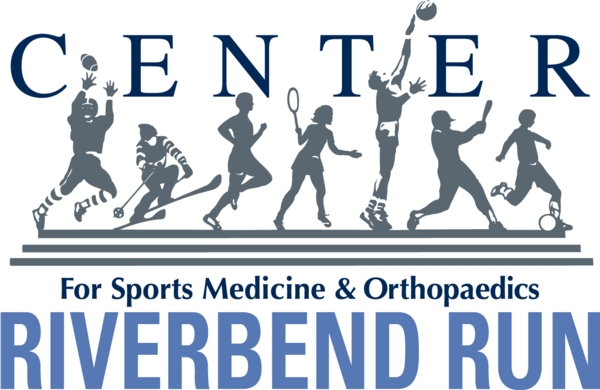 Center for Sports Medicine & Orthopaedics RIVERBEND RUN Logo