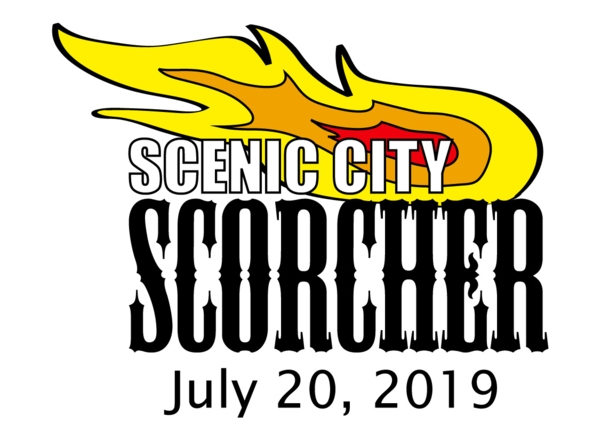 2019 Scenic City Scorcher Logo