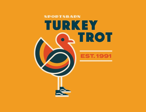 Sports Barn Turkey Trot Logo
